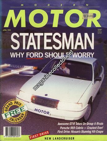 Modern Motor Australia April 1990 Volume 36 No 11