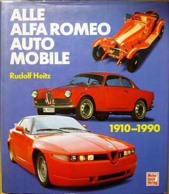 Alle Alfa Romeo Automobile 1910-1990