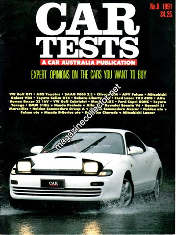 1991 Car Tests (No. 8)