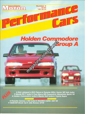 1987 Performance Cars (No. 4)