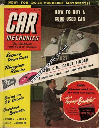 April 1958 (Volume 1 No. 1)