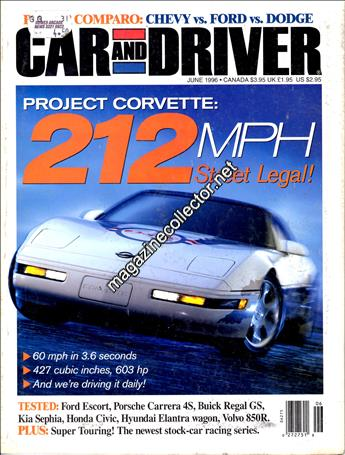 June 1996 (Volume 41 No. 12)