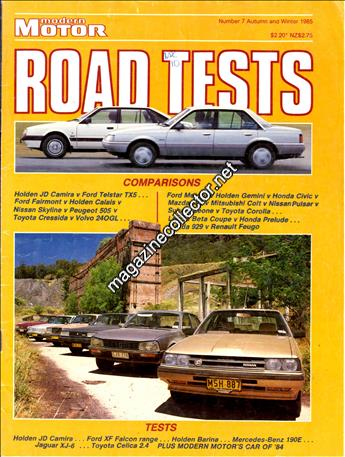 1985 Road Tests (Autumn and Winter) (No. 7)