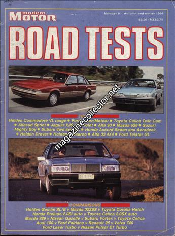 1986 Road Tests (Autumn and Winter) (No. 9)