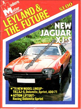 1975 Modern Motoreview - Leyland & The Future
