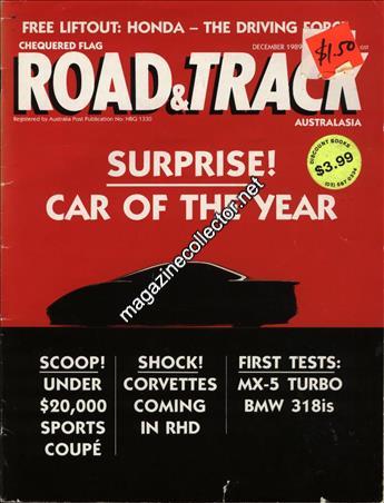 Chequered Flag Road Amp Track Australia December 1989