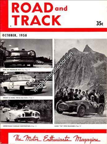 October 1950 (Volume 2 No. 3)