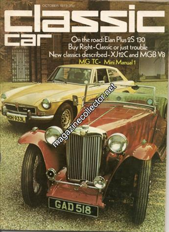 October 1973 (Volume 1 No. 1)