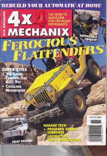 November 1996 (Volume 2 No. 6)