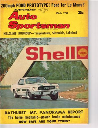 May 1968 (Volume 8 No. 5)