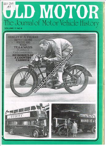 May - June 1979 last issue (Volume 11 No. 6)