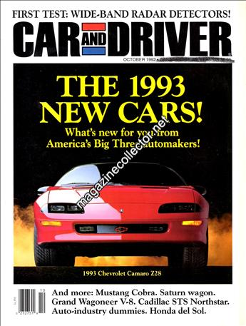 October 1992 (Volume 38 No. 4)