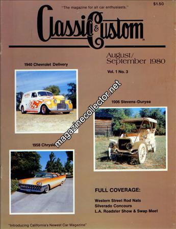 August - September 1980 (Volume 1 No. 3)
