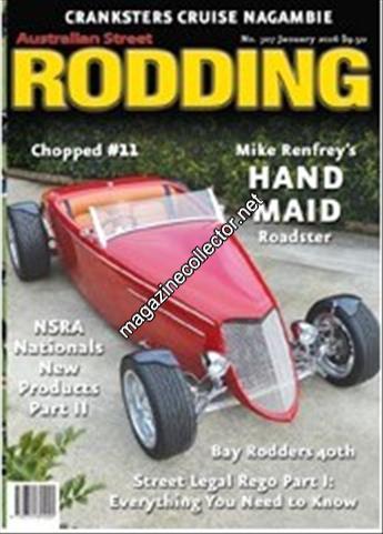 Australian Street Rodding magazine index and contents
