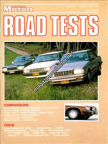 1984 Road Tests (Autumn & Winter) (No. 5)