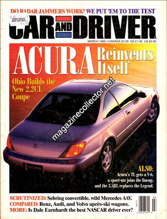 March 1996 (Volume 41 No. 9)