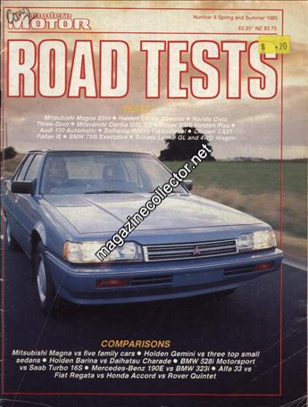 1985 Road Tests (Spring and Summer) (No. 8)
