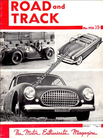 March 1950 (Volume 1 No. 9)