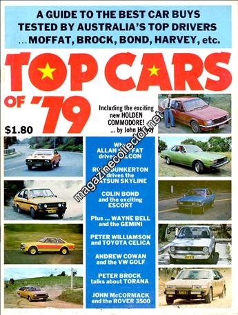 1979 Top Cars of '79