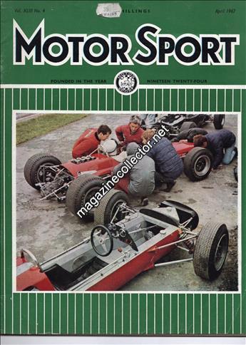 April 1967 (Volume 43 No. 4)