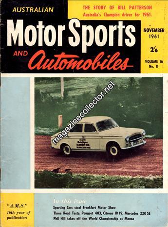 November 1961 (Volume 16 No. 11)