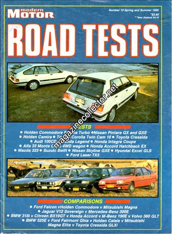 1986 Road Tests (Spring and Summer) (No. 10)