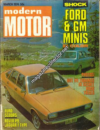 March 1974 (Volume 20 No. 10)