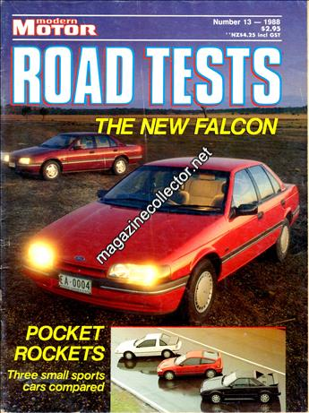 1988 Road Tests (No. 13)