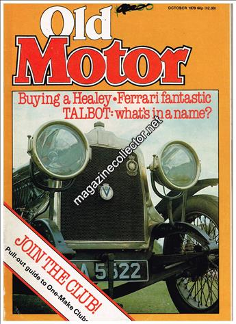 October 1979 (Volume 1 No. 5)