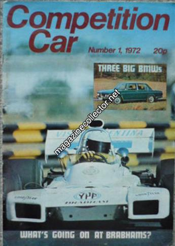 March 1972 (Volume 1 No. 1)